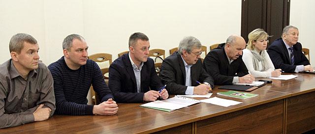 Заседание общественного Совета клуба. Фото Н.Авсеева